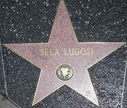 Bela Lugosi star on HWF