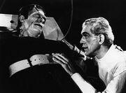 House of Frankenstein, Glenn Strange, Boris Karloff