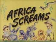 Africa Screams colorized title screen