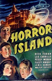 Horor Island film poster