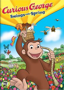 Curious George Swings into Spring DVD Cover