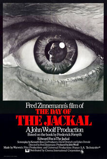 Day of the Jackal 1973 Poster