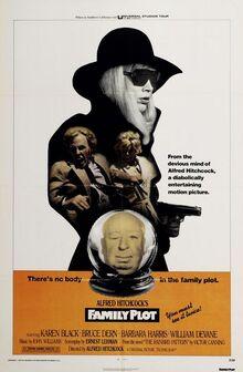 Family plot movie poster