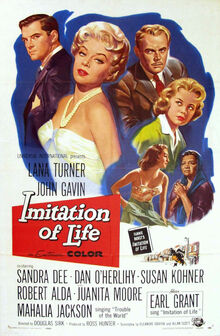 Imitation of Life 1959 poster