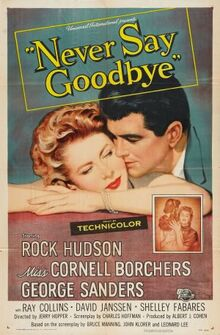 Never Say Goodbye FilmPoster