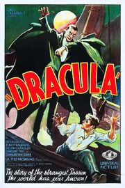 Dracula movie poster Style F