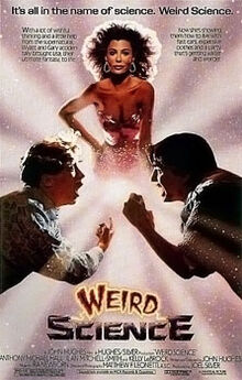 Movie poster for Weird Science (1985)