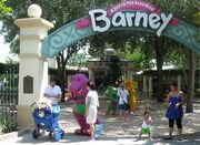 Universal Studios A Day in the Park with Barney