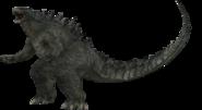 Godzilla 2014 battle pose by sonichedgehog2-d7js5oz