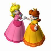 Daisy and peach