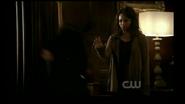 Bonnie throw Damon, 1
