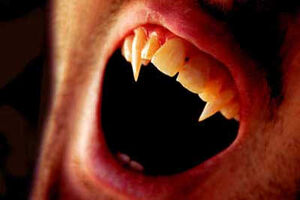 Vampire-mouth