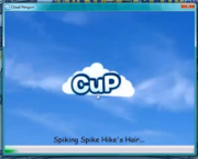Old startup screen