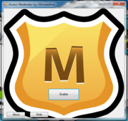 Access moderator interface