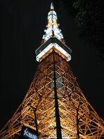 Tokyo Tower Lights