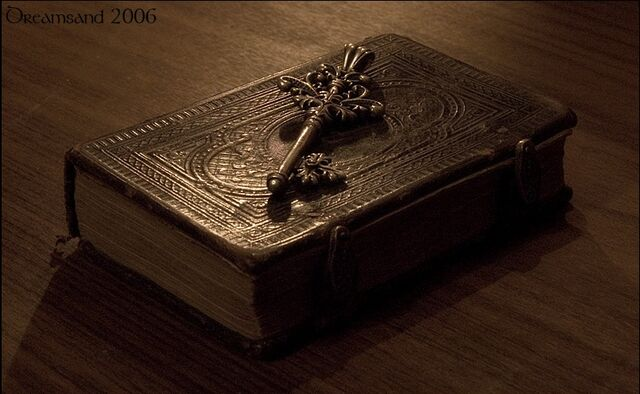 File:The Unknown's Journal and The Key of Discord.jpg