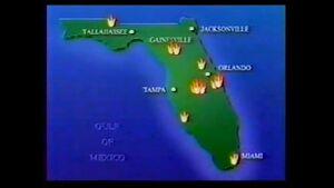 Church fires map