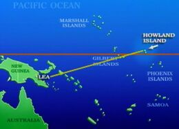 Amelia intended new guinea path