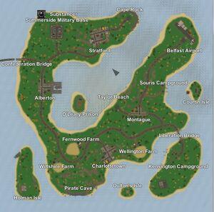 Unternd map