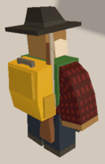 Player wearing Yellow Daypack