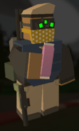 Player holding Candy bar