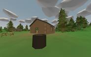 Camano Campground - cabin 1