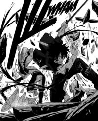 Touta defeats Nagumo