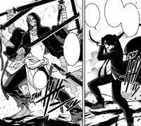 Kuroumaru faces Asura