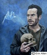 Bob the skull & Harry Dresden