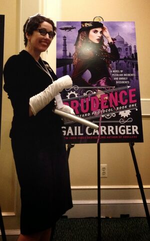 Gail Carriger - Prudence Poster