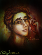 Simon lewis painting