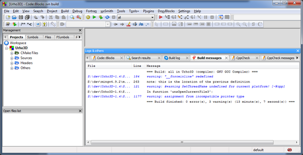 Urho 1.4 build3