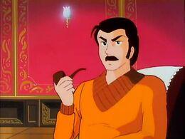 Shuutarou's father
