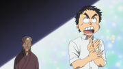 Episode 1 - Ushio calling his dad a baldy