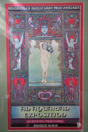 Original woodstock poster