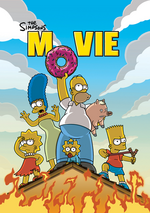 Simpsons final poster