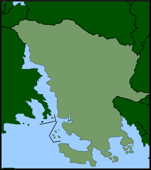 Location of the Kingdom of Posillipo