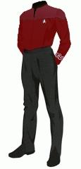 Uniform duty red po 1