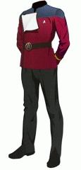 Uniform dress red ensign