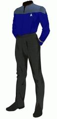 Uniform duty blue ensign