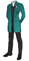 Uniform Smock Officer Blue