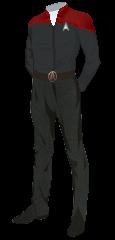 Uniform Admiral Red