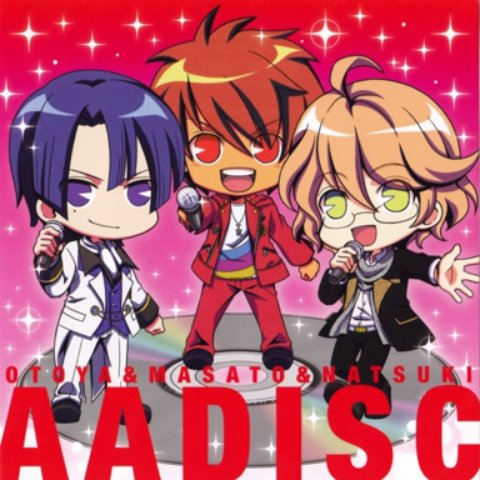 AMAZING LOVE (off vocal) - A Class (Ittoki Otoya, Hijirikawa Masato, Shinomiya Natsuki)