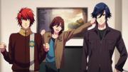 Reiji, Otoya and Tokiya