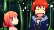 Otoya Embarassed by Himself