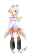 Utau art request nana nekore transparent ver by peachypieart-d7d8g49