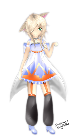 File:Utau art request nana nekore transparent ver by peachypieart-d7d8g49.png