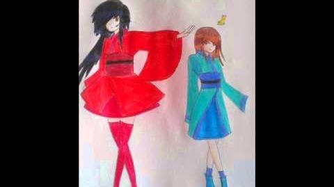 UTAU Dreaming Little Bird-Exie and Emi Natsume