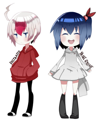 File:Delta and yami chibis.png