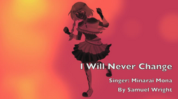 """Image of """"I Will Never Change"""""""